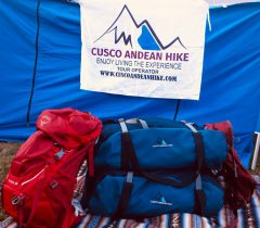 PACKING LIST  FOR THE INCA TRAIL