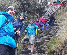 INCA TRAIL DIFFICULTY