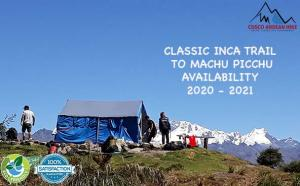 INCA TRAIL AVAILABILITY 2020-2021 CUSCO OFFICIAL TREKKING COMPANY