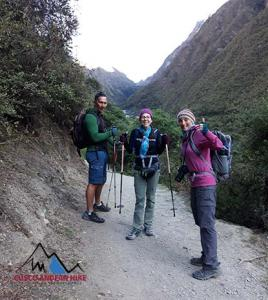 INCA TRAIL TO MACHU PICCHU ON THE WAY TO DEAD WOMANS PASS