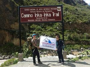 inca trail to machu picchu with cusco andean hike official tour operator